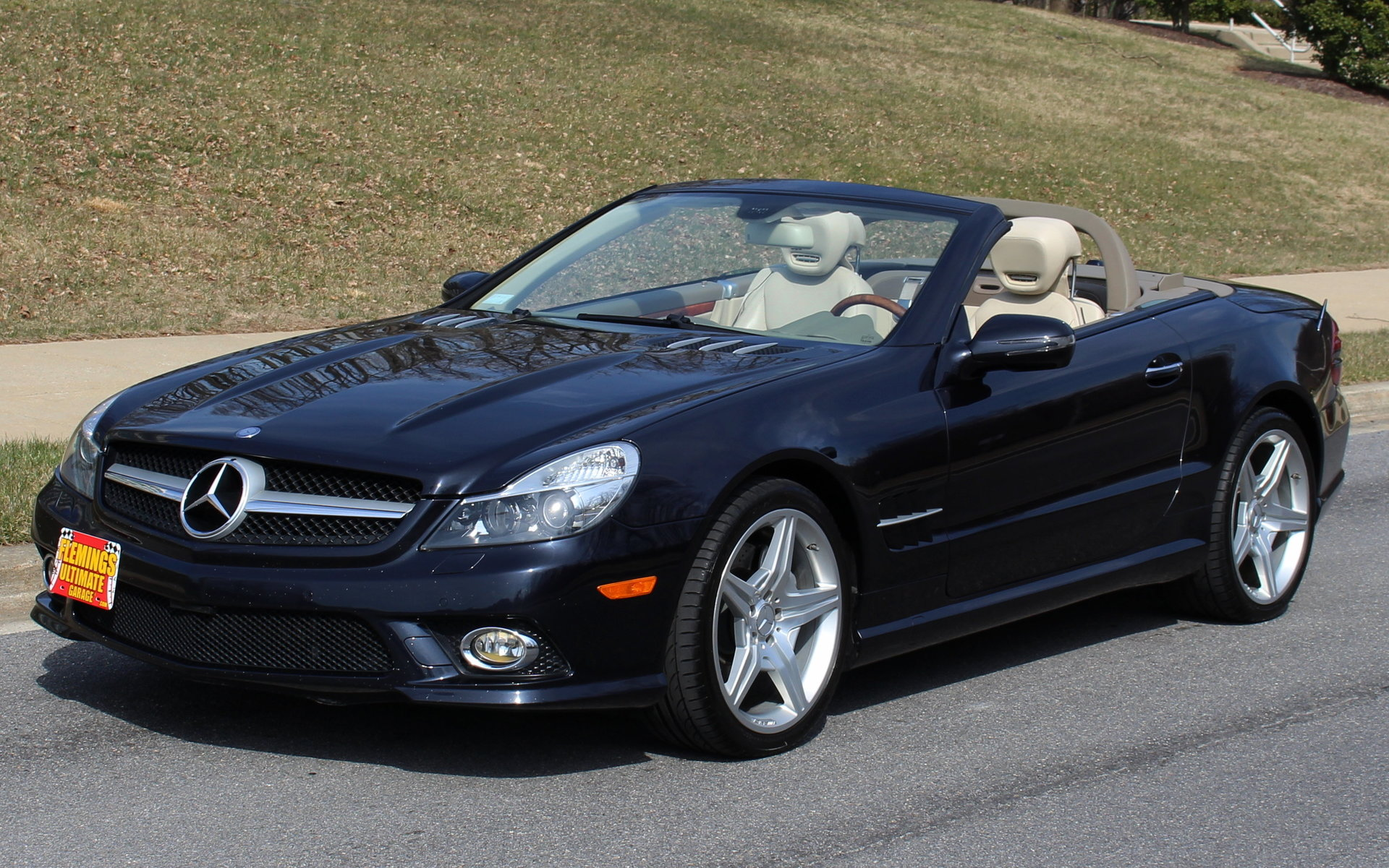 2009 mercedes benz sl 550 roadster for sale 83483 mcg. Black Bedroom Furniture Sets. Home Design Ideas