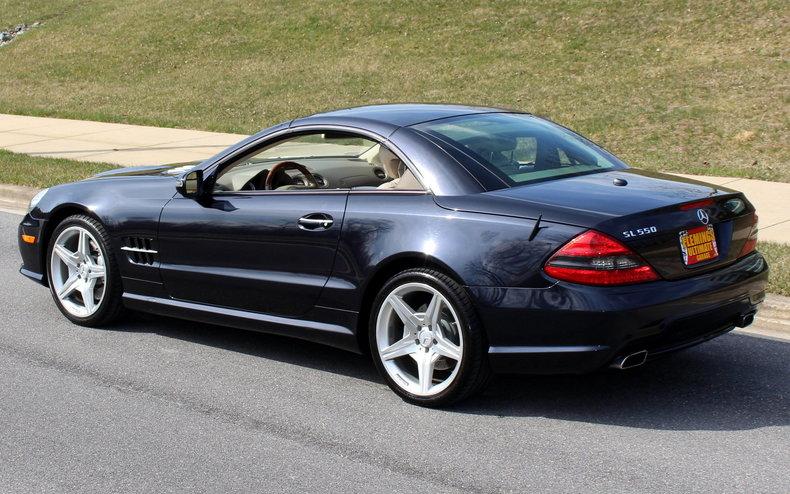 2009 mercedes benz sl 550 roadster for sale 83483 mcg for Garage agree mercedes