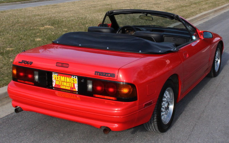 1991 mazda rx 7 1991 mazda rx 7 fc convertible for sale to buy or purchase low mileage. Black Bedroom Furniture Sets. Home Design Ideas