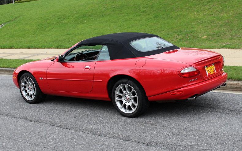 2000 jaguar xkr convertible for sale 83678 mcg. Black Bedroom Furniture Sets. Home Design Ideas