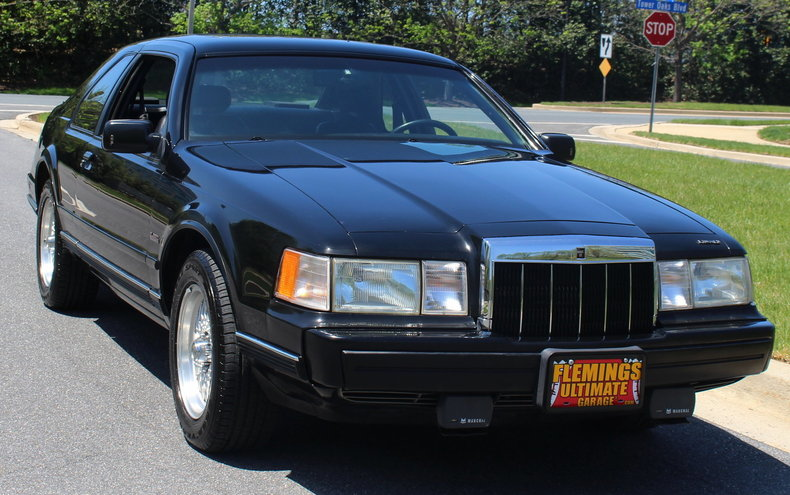 1990 lincoln mark vii special edition for sale 84642 mcg. Black Bedroom Furniture Sets. Home Design Ideas