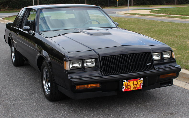 1987 buick regal 1987 buick grand national for sale to buy or purchase classic cars muscle. Black Bedroom Furniture Sets. Home Design Ideas