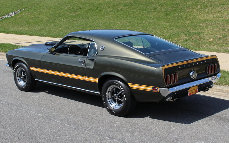1969 Ford Mustang | 1969 Mustang Mach 1 428 Super Cobra ...