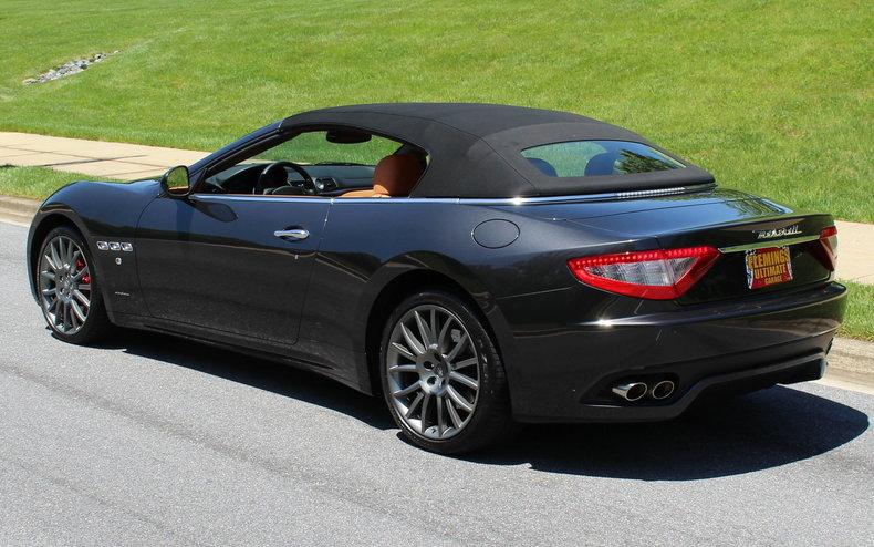 2012 maserati gran turismo roadster for sale 85786 mcg. Black Bedroom Furniture Sets. Home Design Ideas