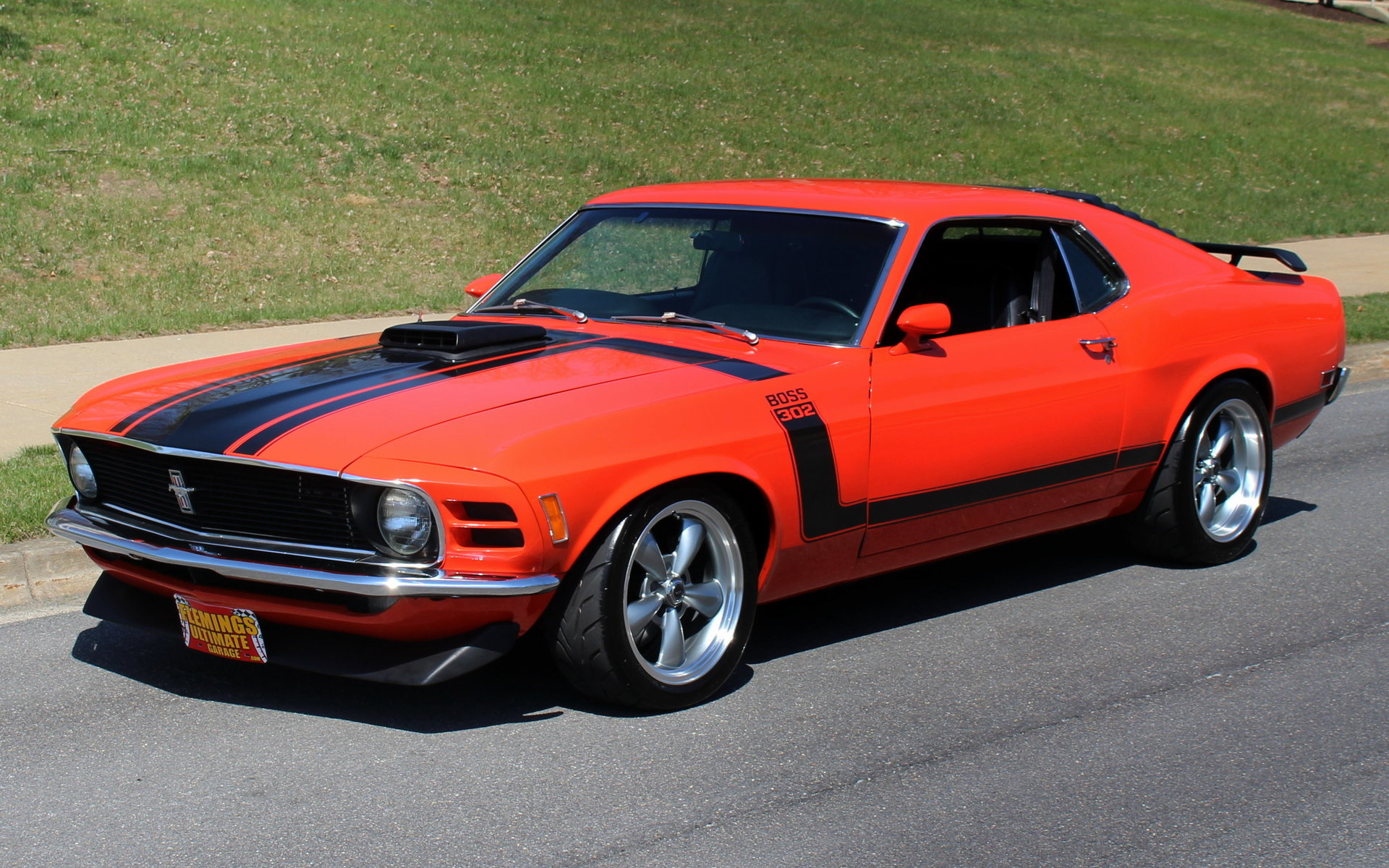 1970 ford mustang boss 302 r for sale 86222 mcg. Black Bedroom Furniture Sets. Home Design Ideas
