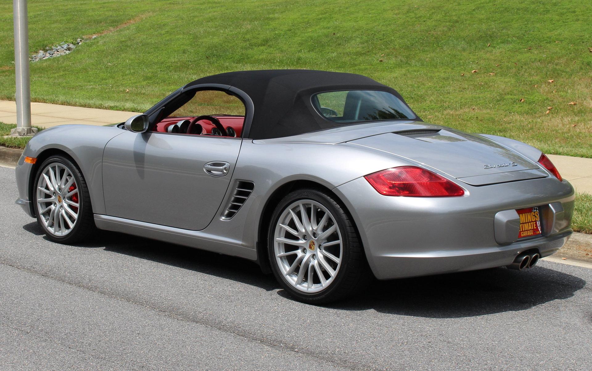 2008 Porsche Boxster Rs60 Spyder For Sale 94622 Mcg