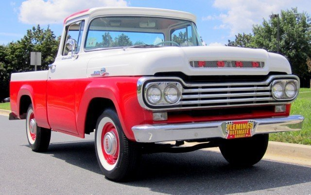 Nada Classic Car Value >> 1959 Ford F100   1959 Ford F100 For Sale To Purchase or ...