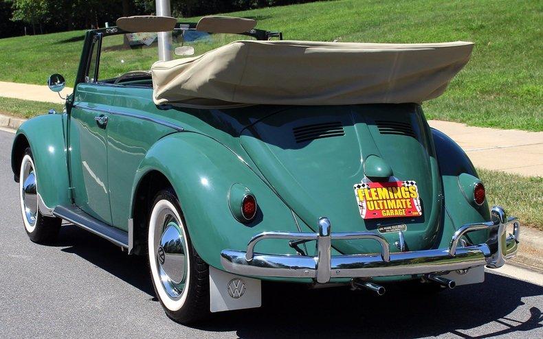 1960 Volkswagen Beetle 1960 Volkswagen Beetle Cabriolet