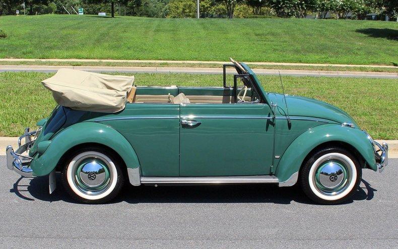 1960 Volkswagen Beetle | 1960 Volkswagen Beetle cabriolet for sale to buy or purchase Bug VW ...