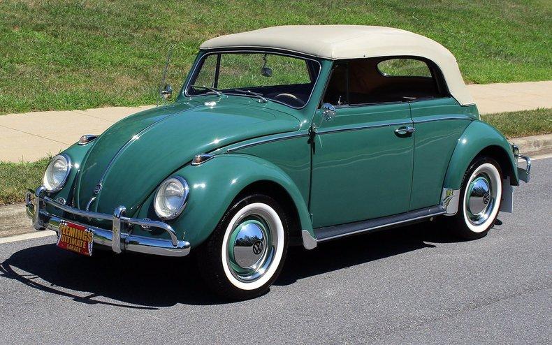 Convertible Volkswagen Beetle >> 1960 Volkswagen Beetle | 1960 Volkswagen Beetle cabriolet for sale to buy or purchase Bug VW ...