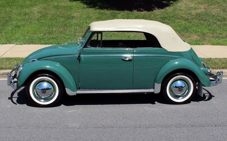1960 Volkswagen Beetle | 1960 Volkswagen Beetle cabriolet for sale to buy or purchase Bug VW ...