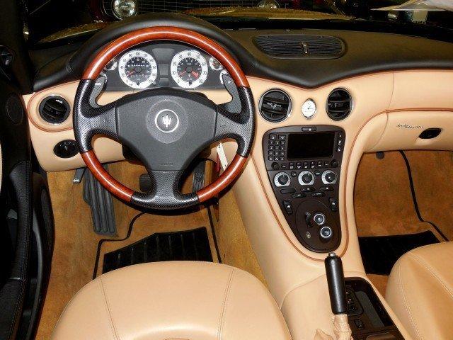 2003 Maserati Spyder 2003 Maserati Cambiocorsa For Sale To