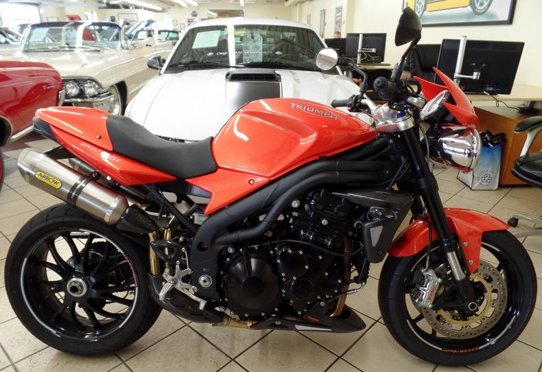 2008 Triumph Speed Triple | 2008 Triumph Speed Triple for sale to ...