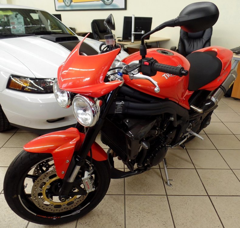 Used Car Loan Finance On Existing Car At Low Rate Of: 2008 Triumph Speed Triple For