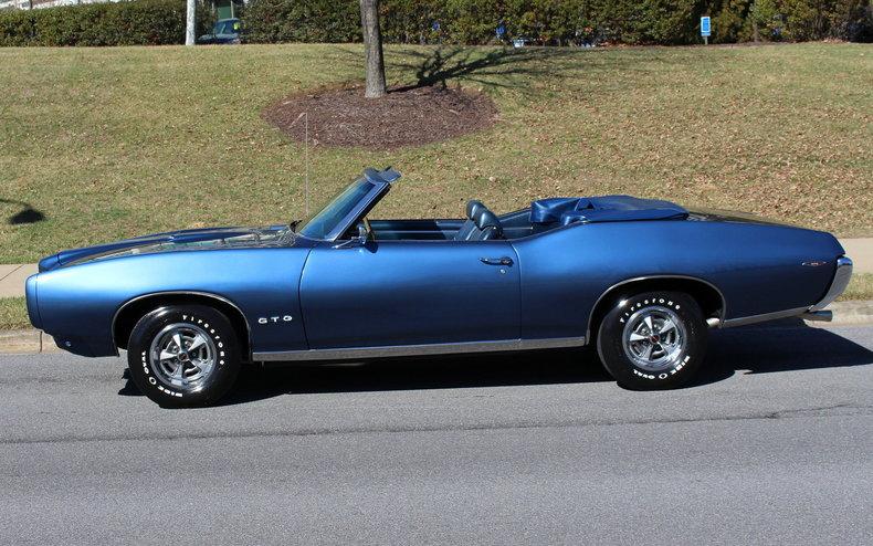 1969 Pontiac Gto Convertible For Sale 21540 Mcg