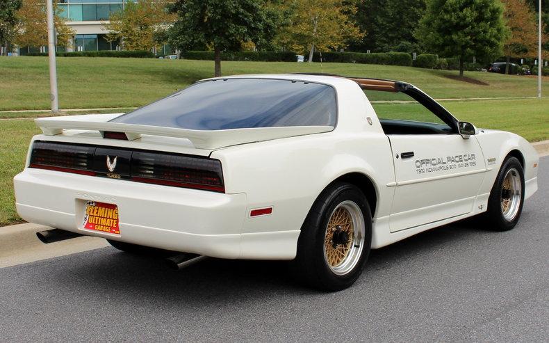 1989 Pontiac Trans Am 1989 Pontiac Trans Am Pace Car For