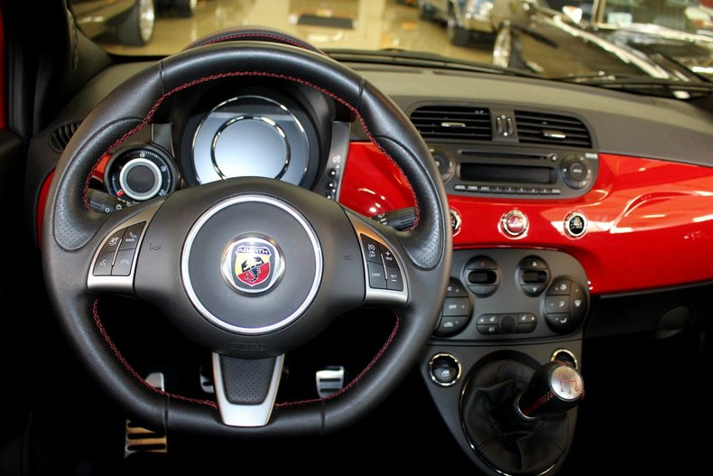2015 Fiat 500 Abarth Convertible For Sale 343 Mcg