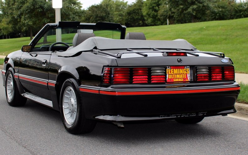 1987 Ford Mustang 1987 Ford Mustang Gt Convertible For