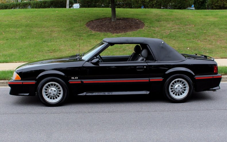 1987 ford mustang 1987 ford mustang gt convertible for sale to purchase or buy flemings. Black Bedroom Furniture Sets. Home Design Ideas