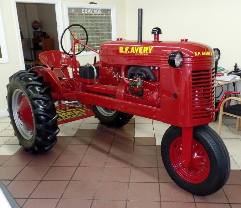 Used Car Loan Finance On Existing Car At Low Rate Of: 1943 Avery Tractor And Enclosed Transport Trailer