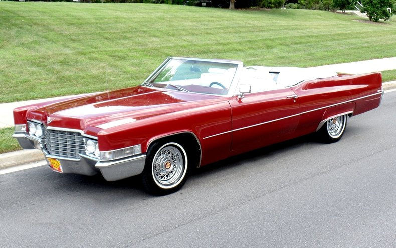 1969 Cadillac Deville 1969 Cadillac Deville For Sale To