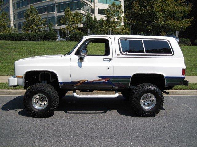 1989 Chevrolet K5 Blazer 1989 Chevrolet K5 Blazer For