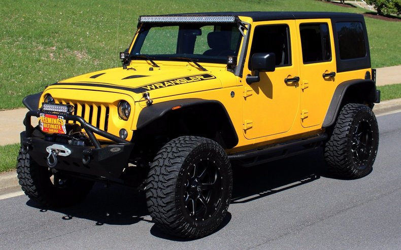 2015 Jeep Wrangler 2015 Jeep Wrangler For Sale To