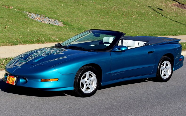 1996 Pontiac Firebird 1996 Pontiac Firebird For Sale To