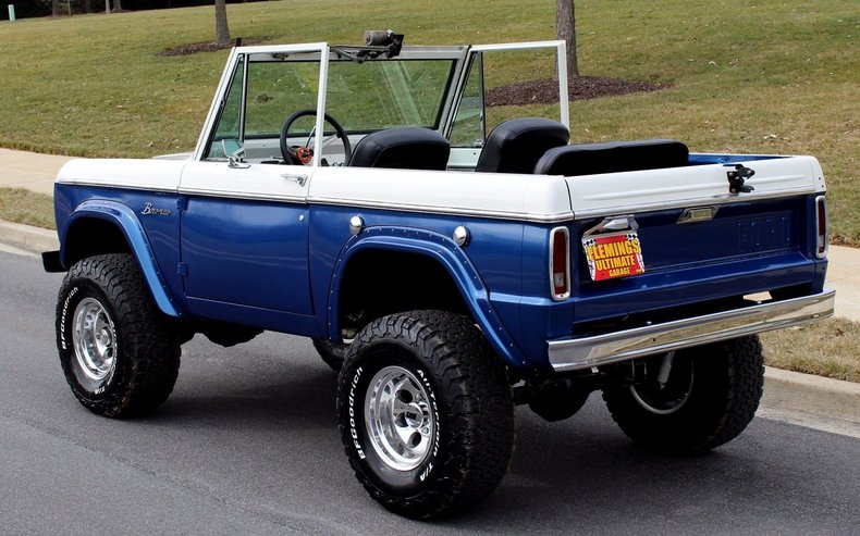 1975 ford bronco 1975 ford bronco for sale to buy or purchase classic cars muscle cars. Black Bedroom Furniture Sets. Home Design Ideas