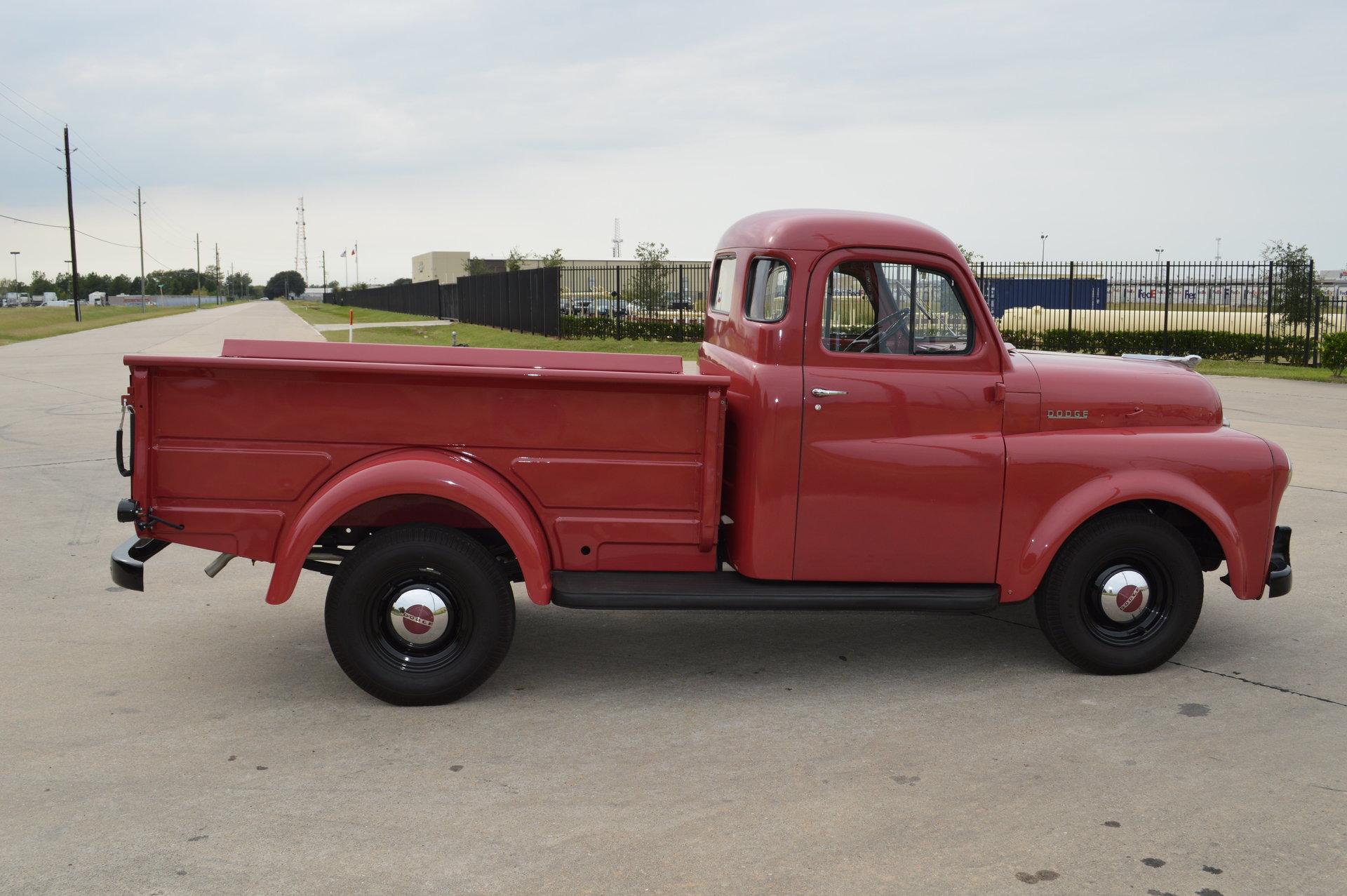 1949 Dodge 1 2 Ton B1 C 116 Pilot House Pickup For Sale 68032 Mcg Truck Seat
