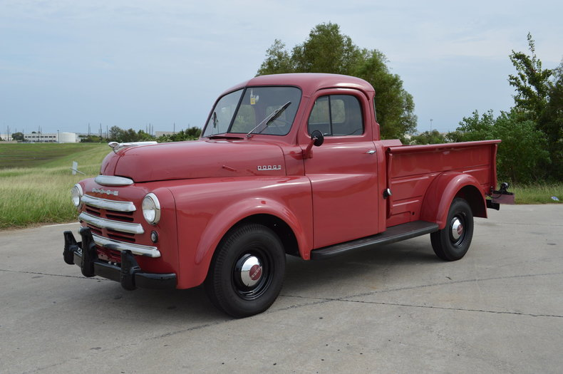 "1949 Dodge 1/2 Ton B1-C-116 ""Pilot House"" Pickup"