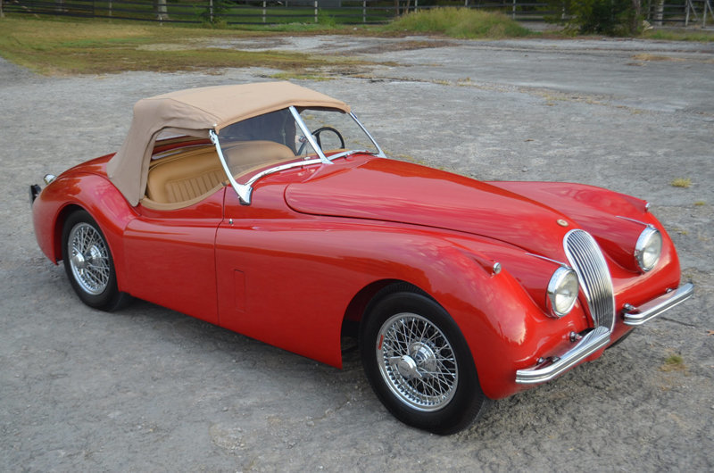 1952 Jaguar XK120 | Frazier Motorcar Company