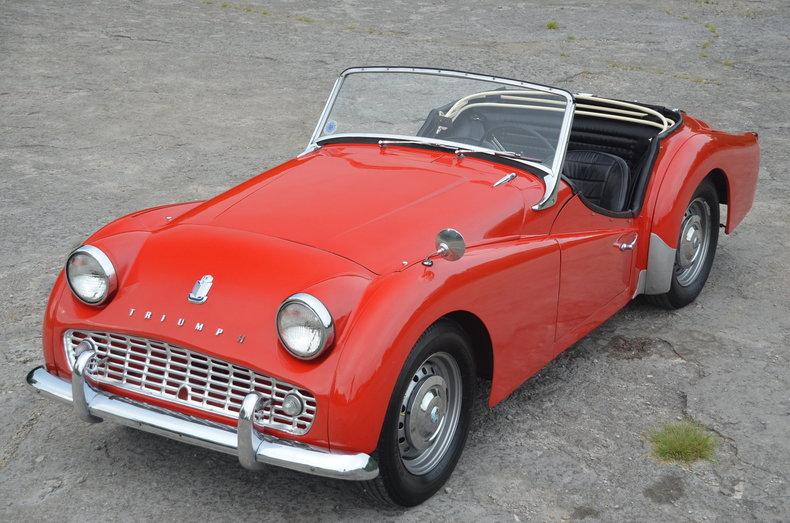 1962 Triumph TR3