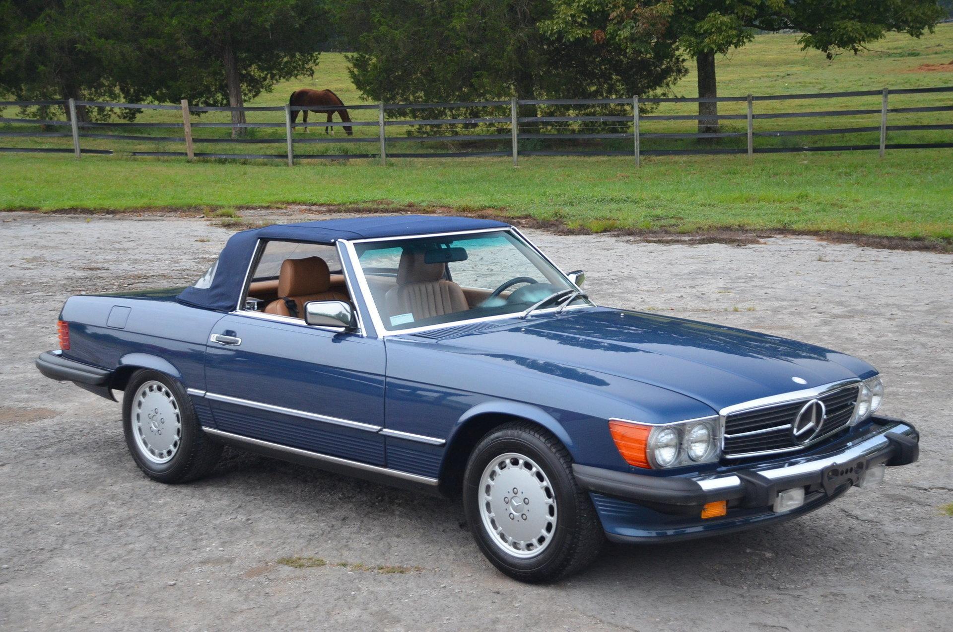 1986 Mercedes-Benz 560SL for sale #95373   MCG