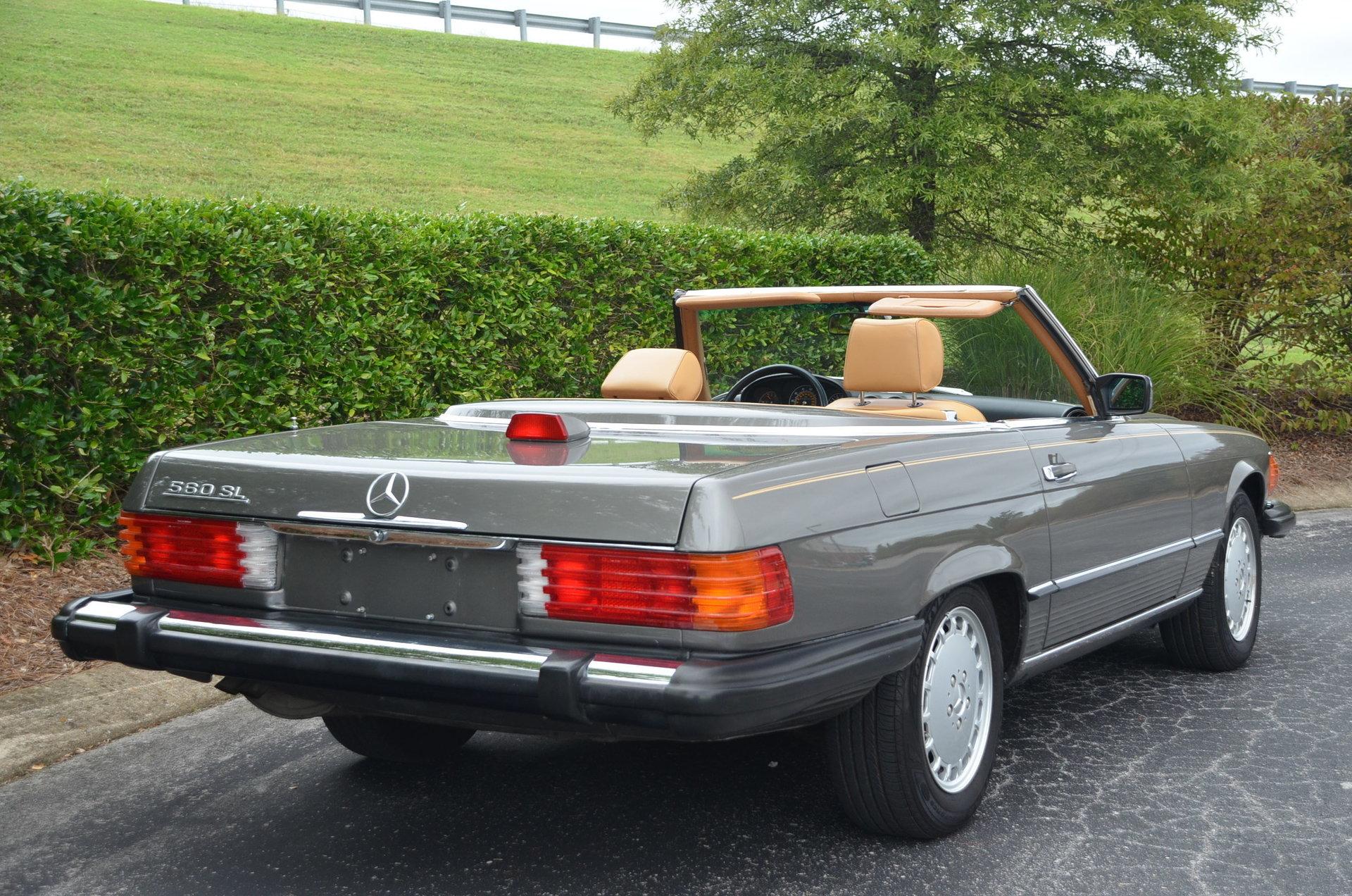 1987 Mercedes-Benz 560SL | Frazier Motorcar Company