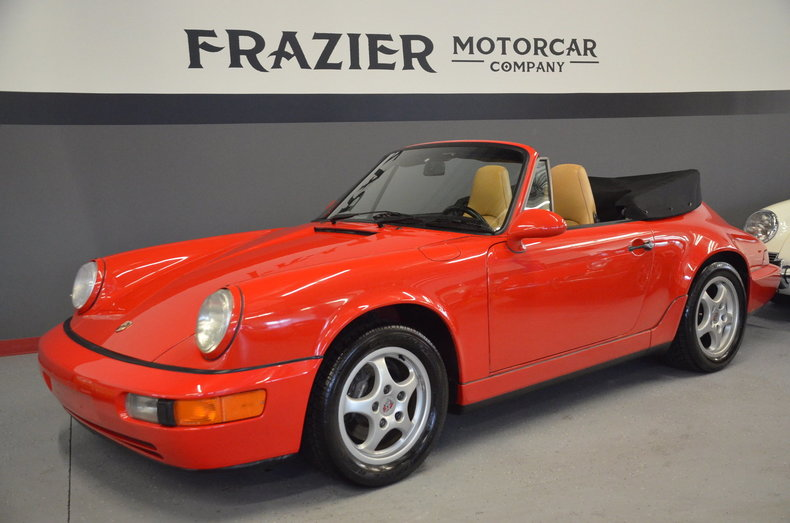 1992 Porsche 911 Carrera Cabriolet For Sale