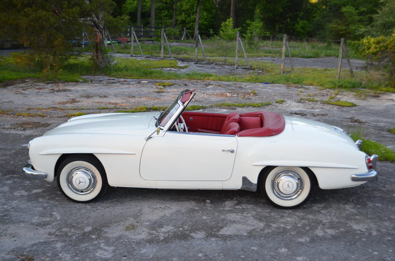 1960 mercedes benz 190sl for sale 69911 mcg for Mercedes benz 190 sl for sale