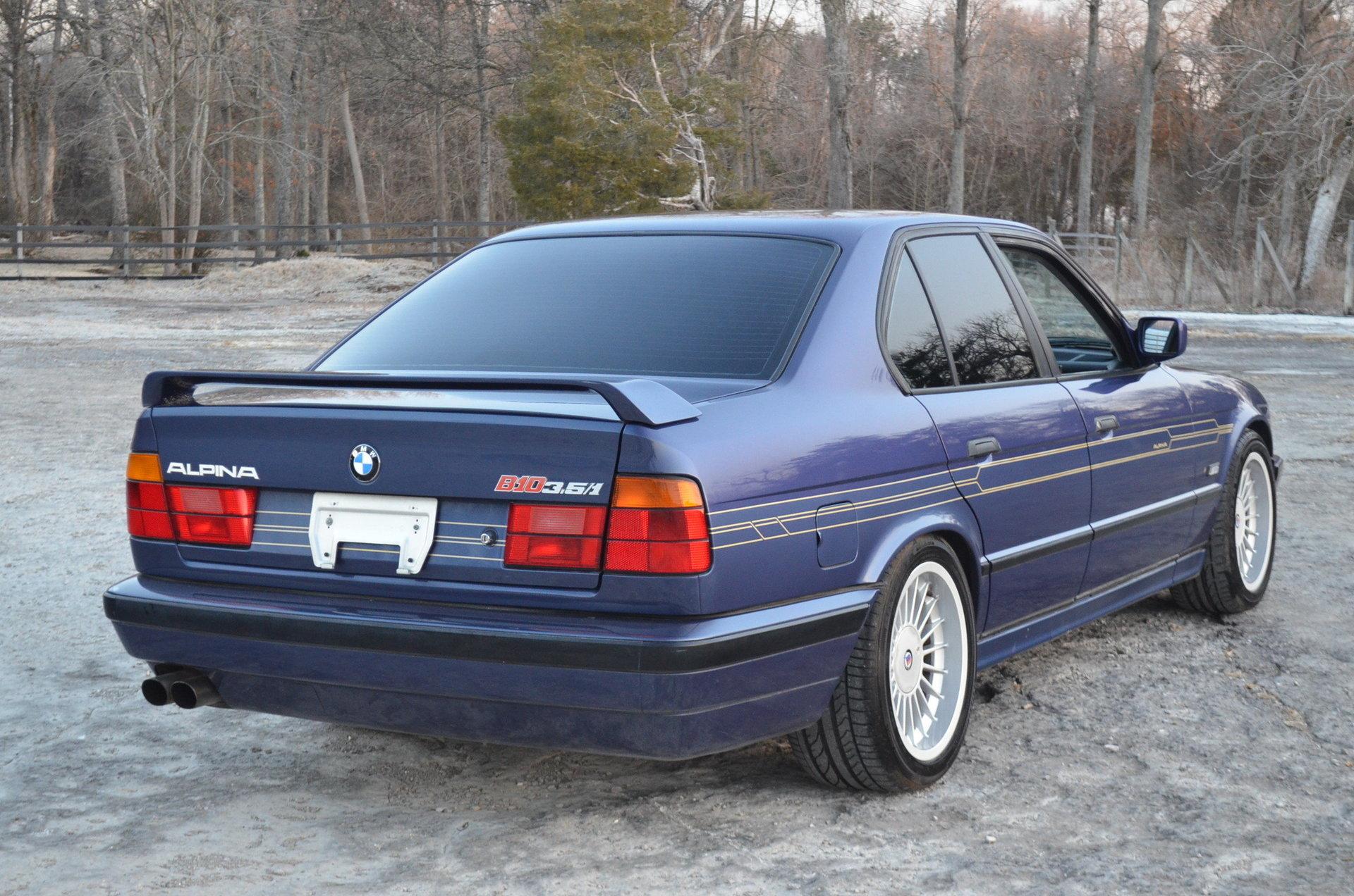 1989 Bmw Alpina B10 For Sale 80221 Mcg