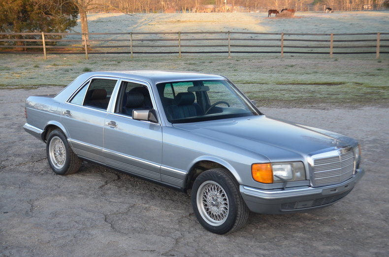 1982 mercedes benz 280se frazier motorcar company for Mercedes benz sales jobs
