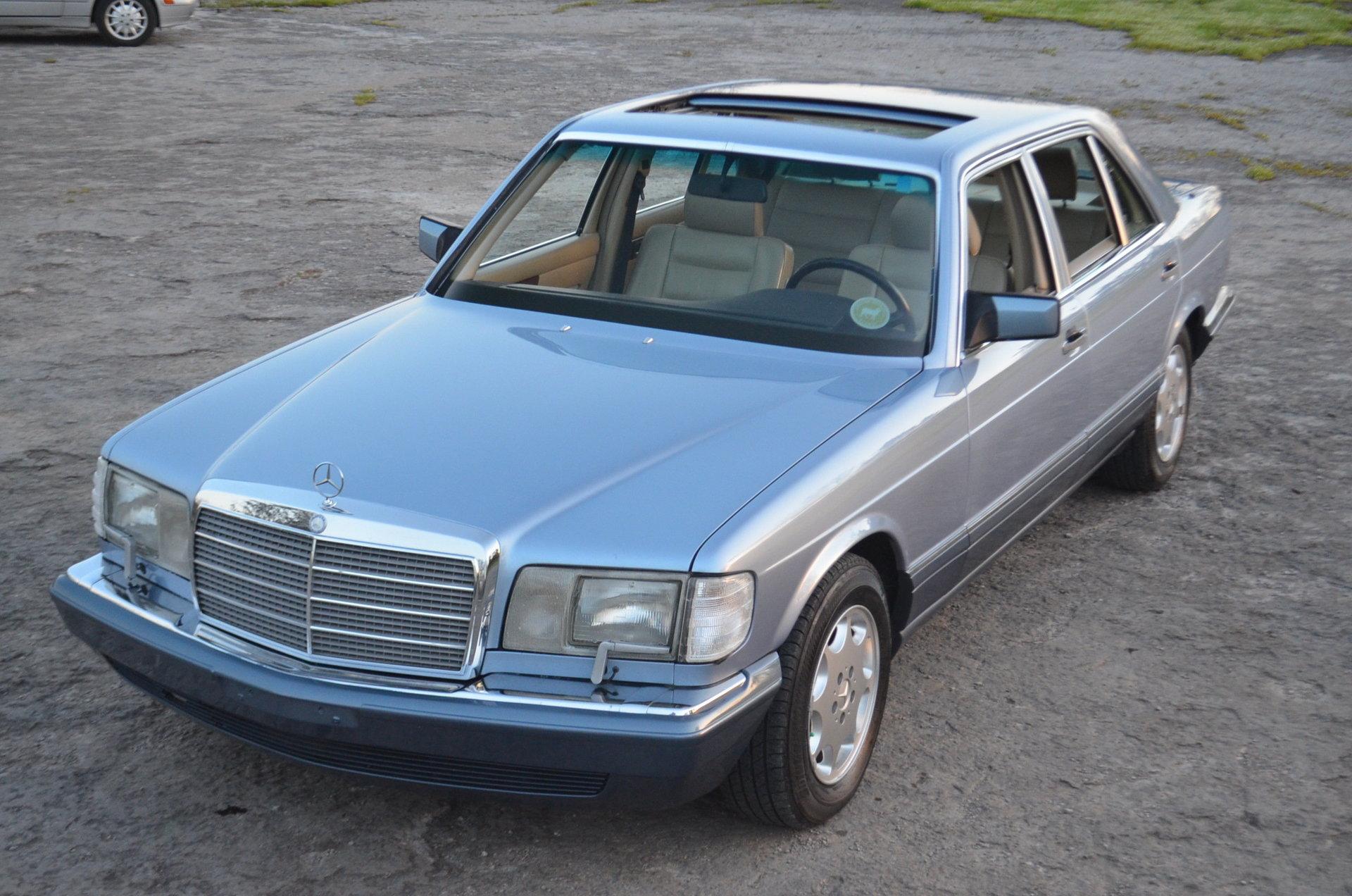42031636fcc7 hd 1991 mercedes benz 350 sdl