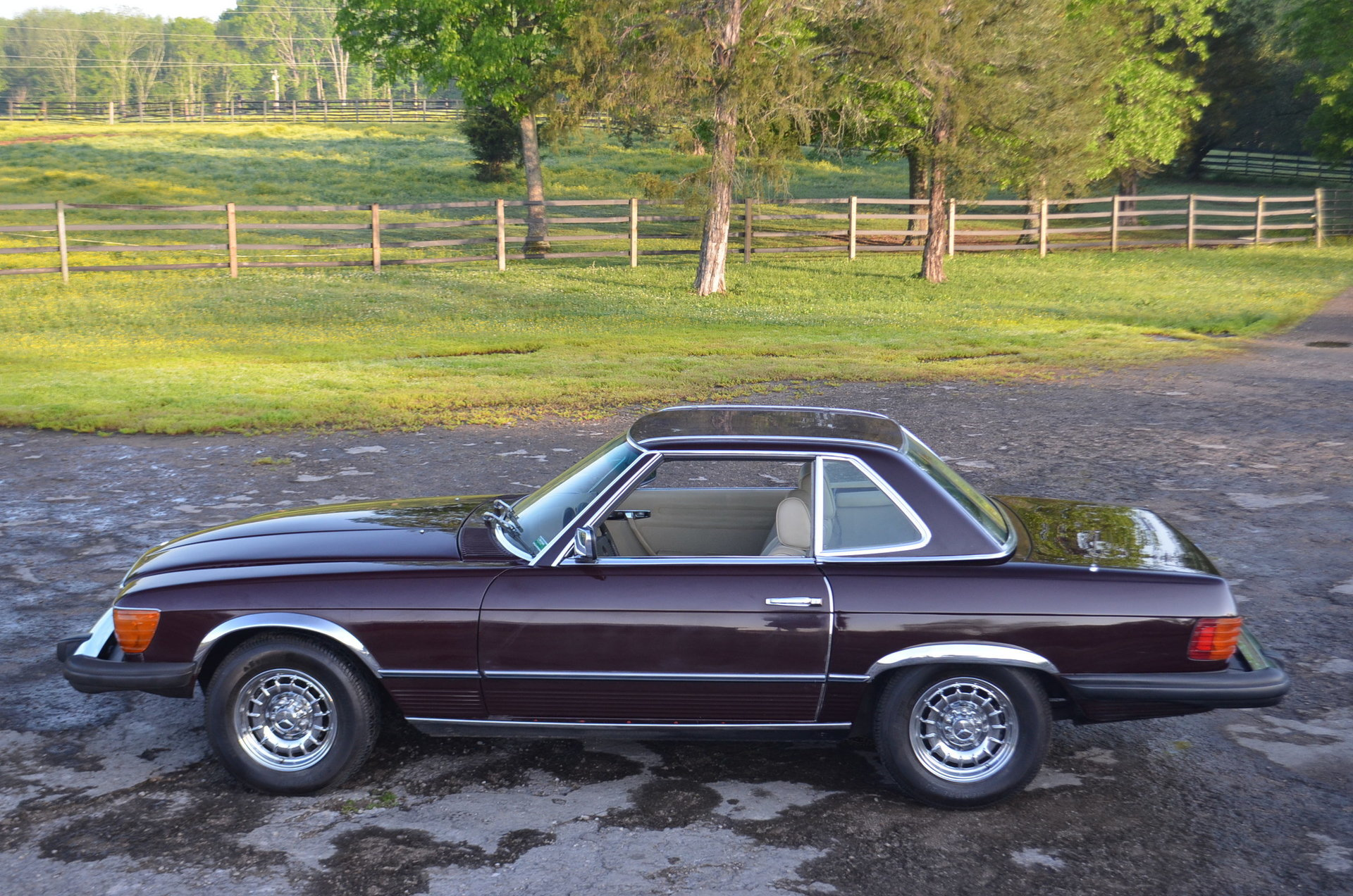 1978 mercedes benz 450sl for sale 88976 mcg for Mercedes garage 93