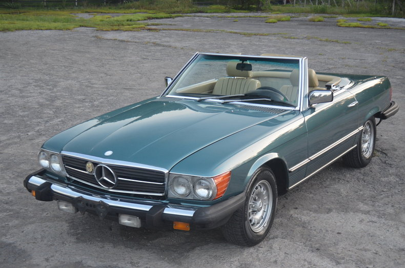 1984 Mercedes-Benz SL380