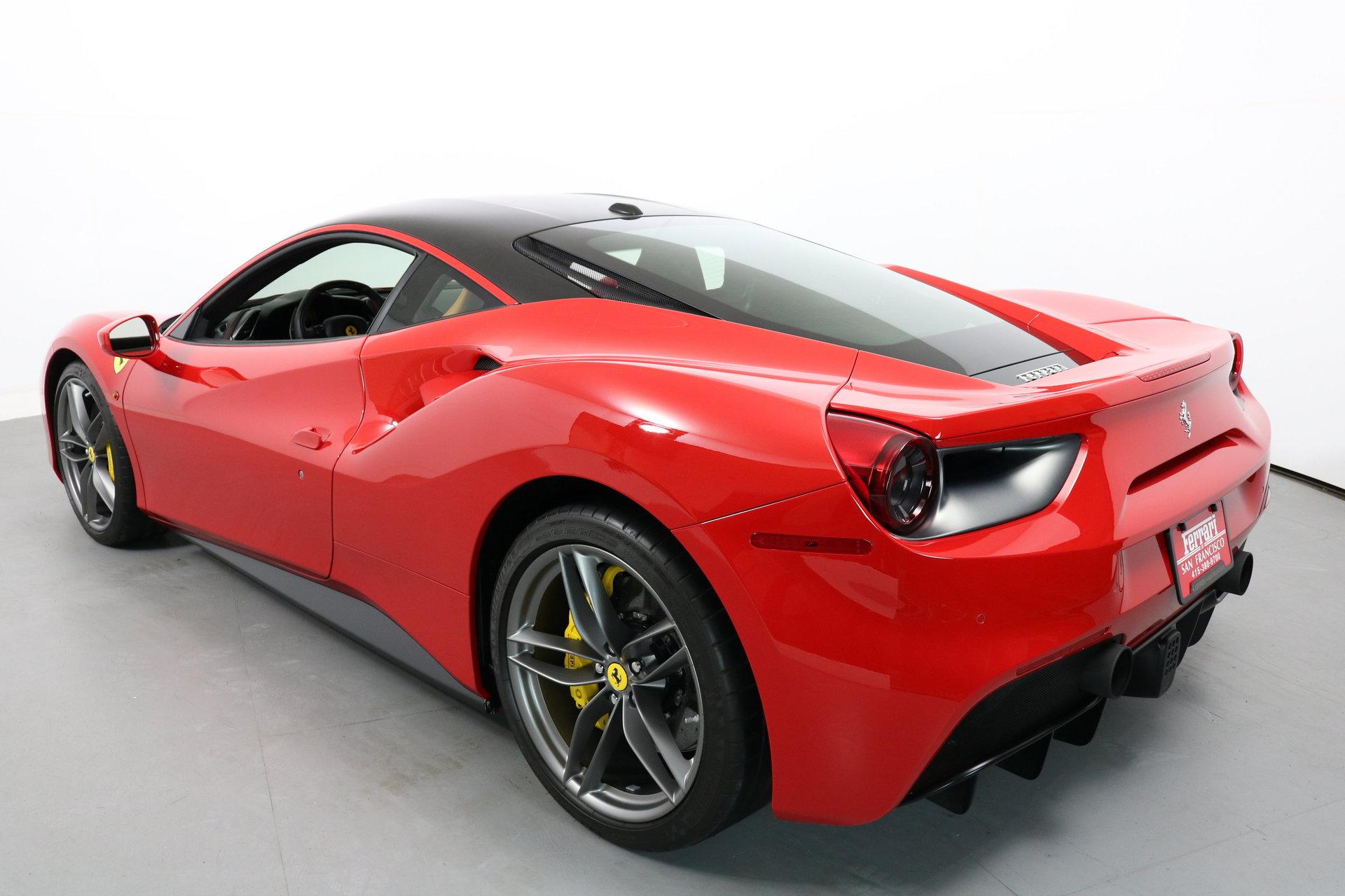 For Sale 65 Corsa Convertible Rolling Chassis California: 2017 Ferrari 488 GTB For Sale #88582