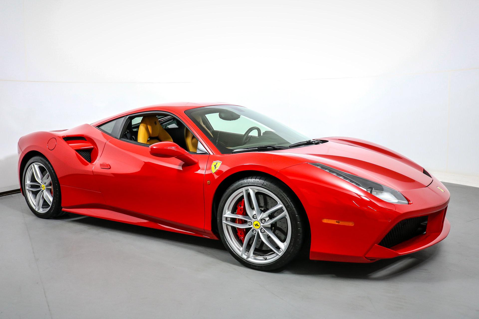 For Sale 65 Corsa Convertible Rolling Chassis California: 2016 Ferrari 488 GTB For Sale #89490
