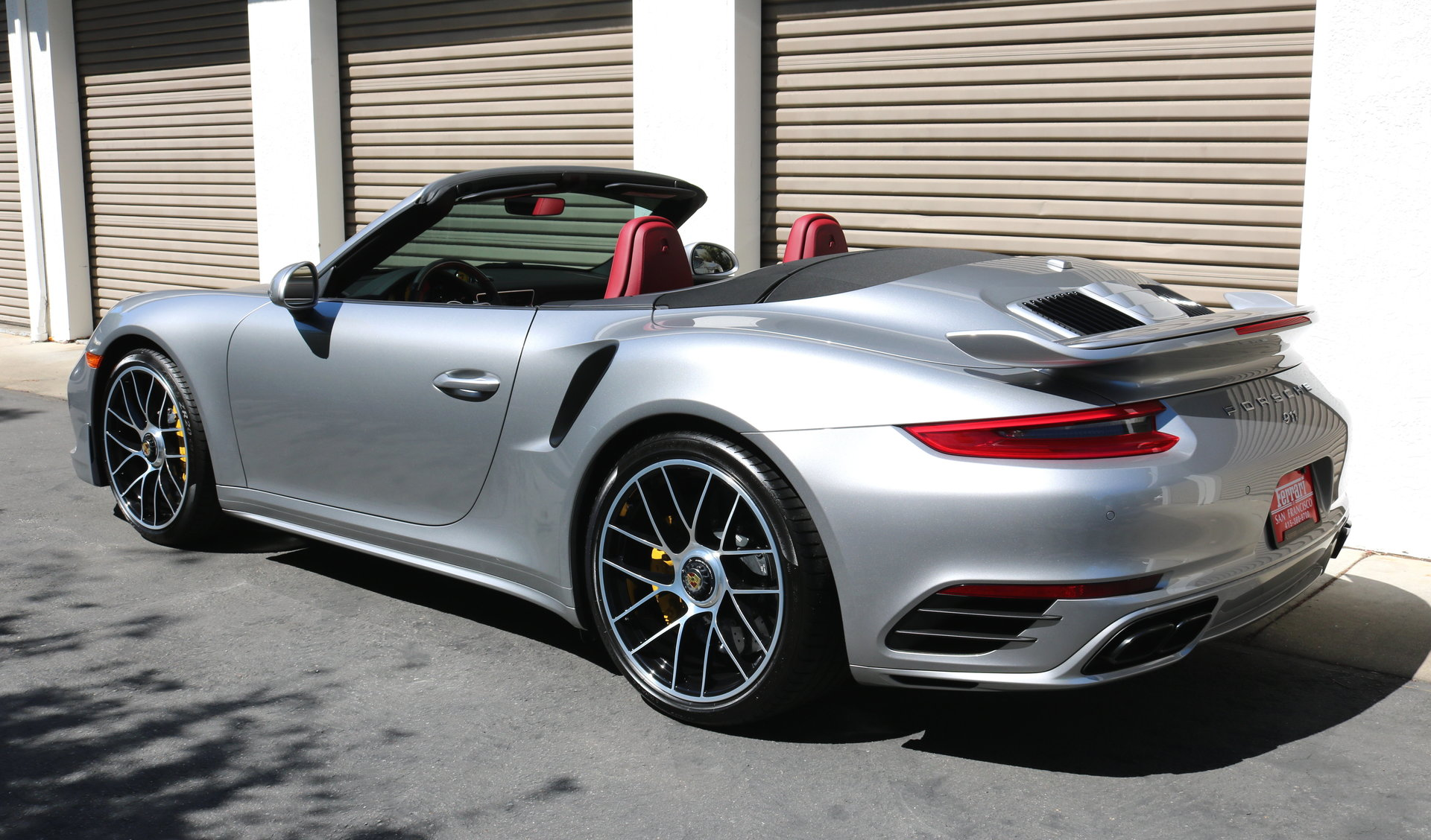 2017 porsche 911 turbo s cabriolet for sale 92064 mcg. Black Bedroom Furniture Sets. Home Design Ideas