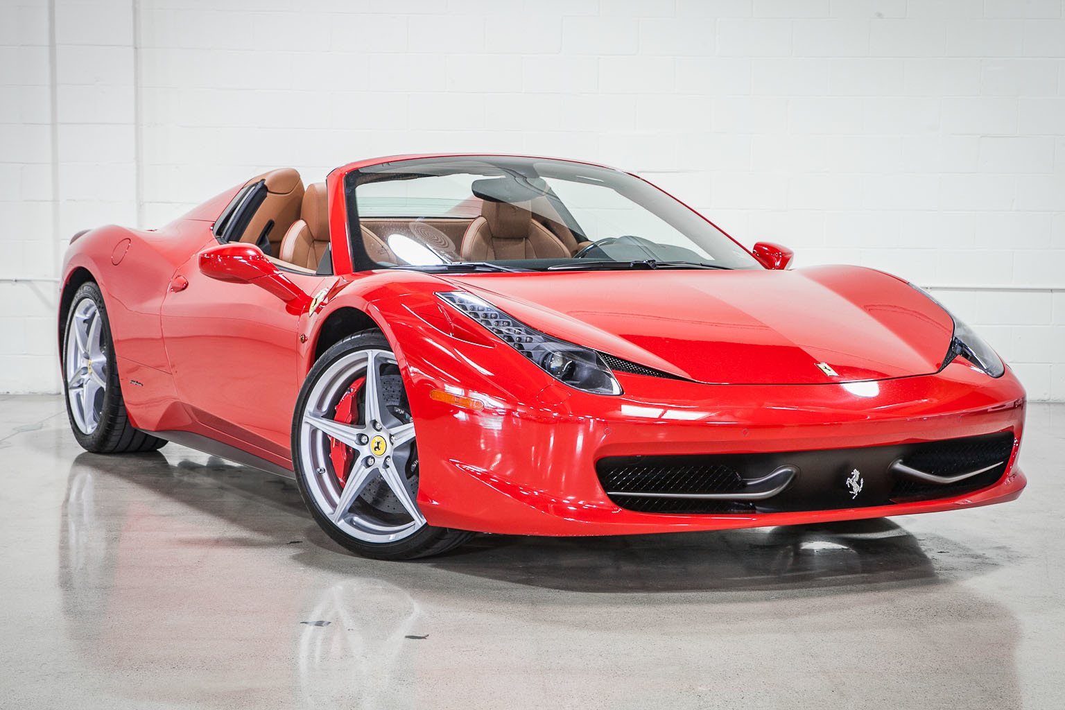 Ordinaire 2012 Ferrari 458 Spider