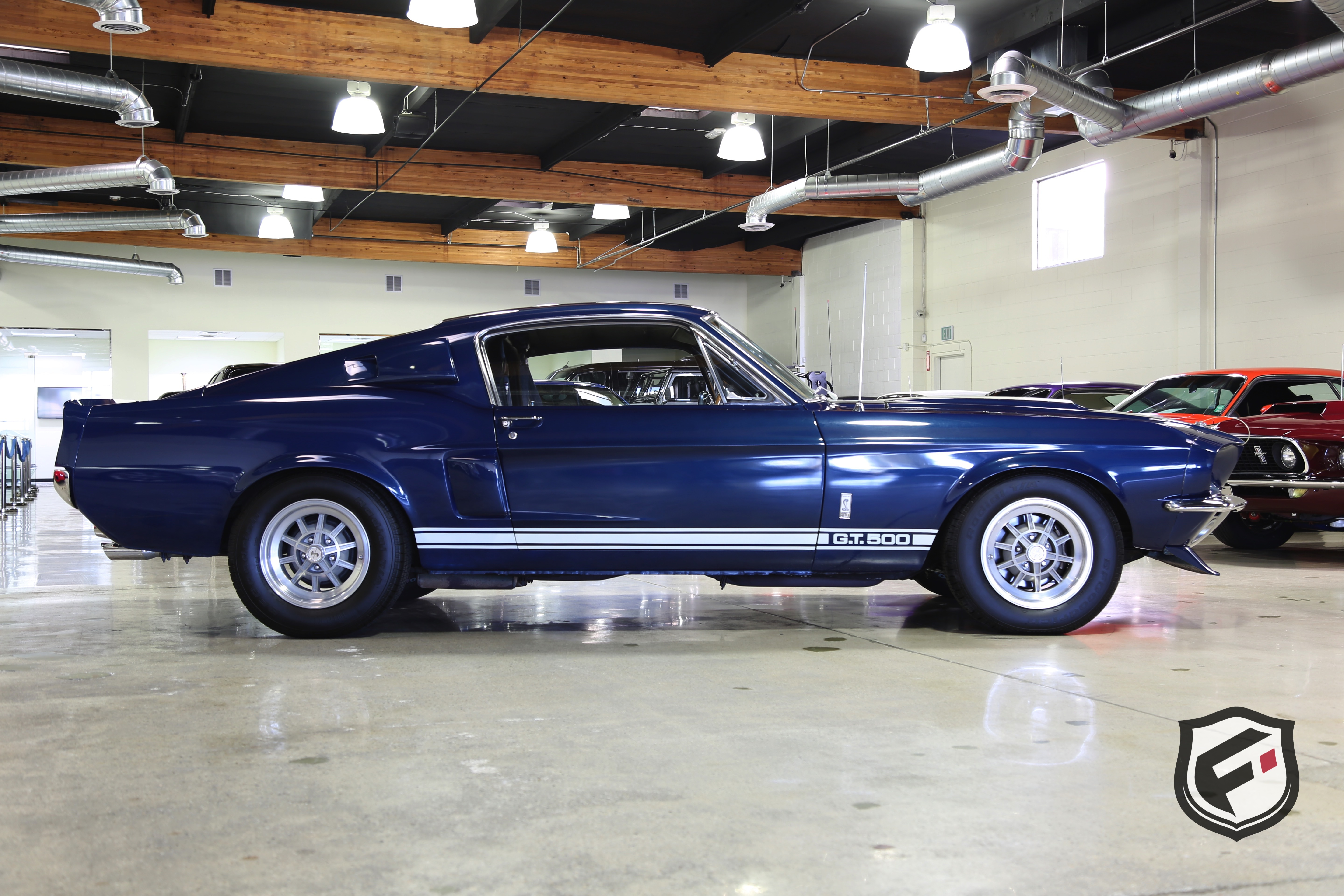 1967 Shelby Gt500 Fusion Luxury Motors