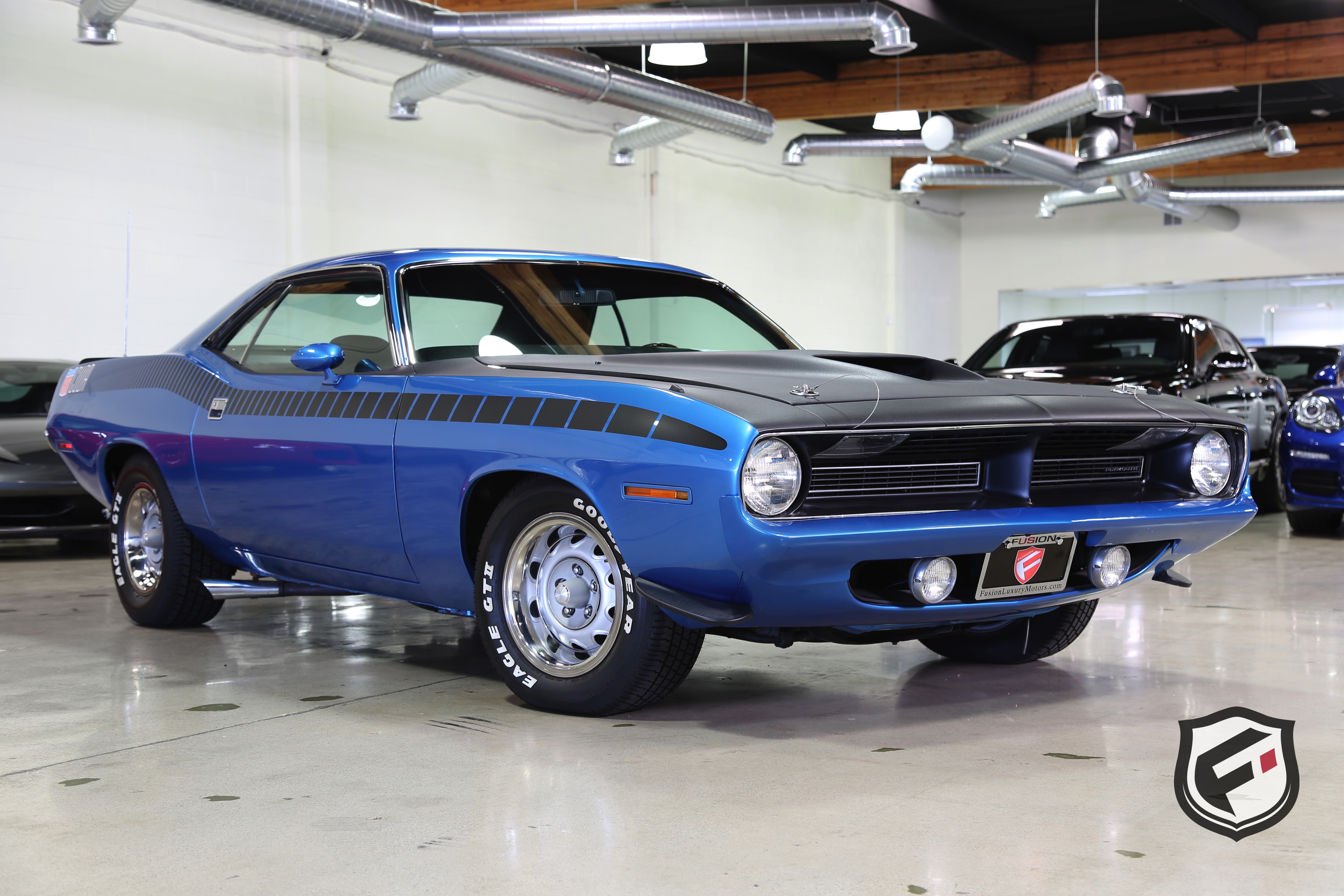 1970 Plymouth Aar Cuda Fusion Luxury Motors
