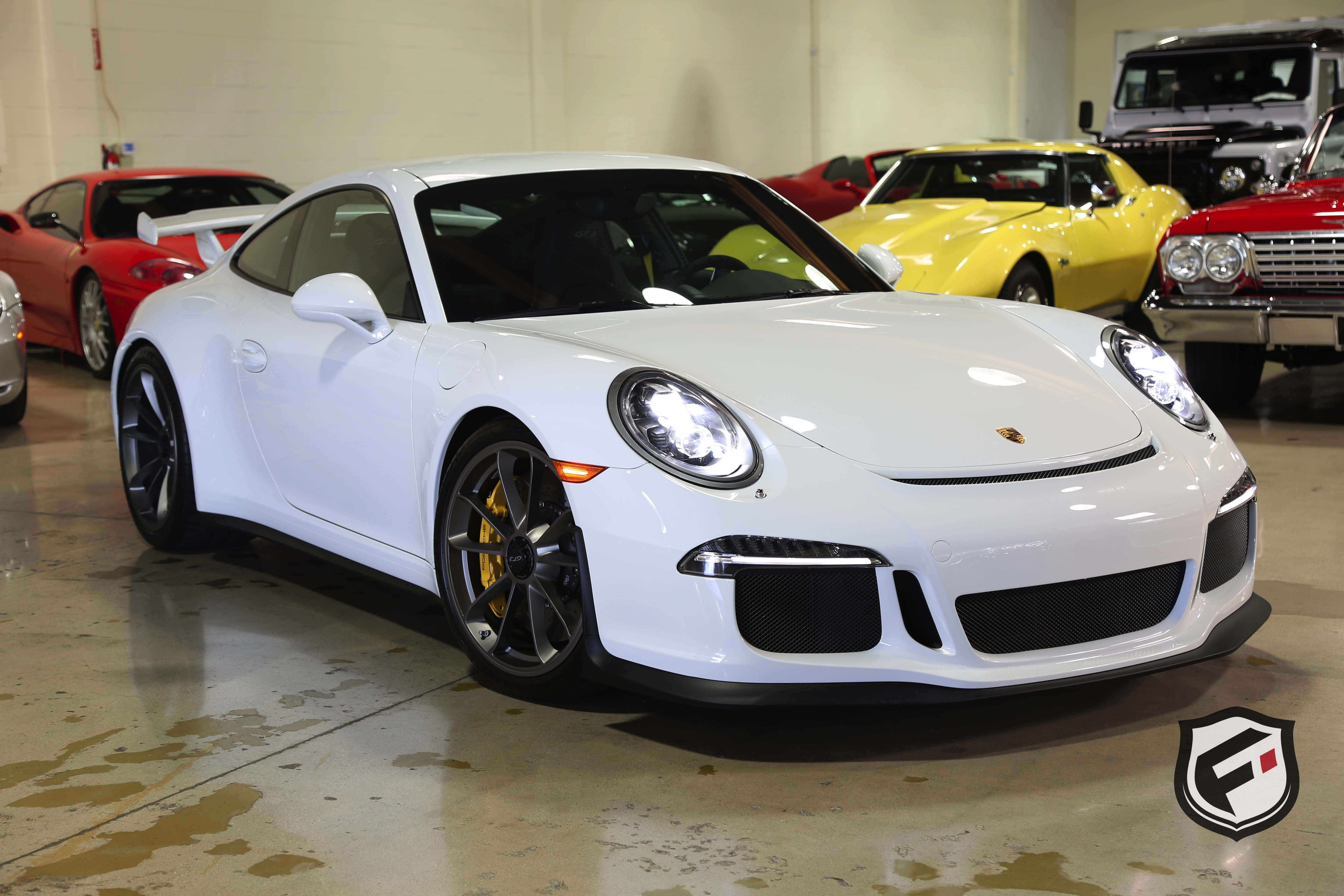 2014 porsche 911 gt3 for sale 57621 mcg. Black Bedroom Furniture Sets. Home Design Ideas