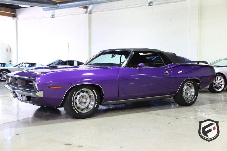 1970 Plymouth Hemi 'Cuda Convertible